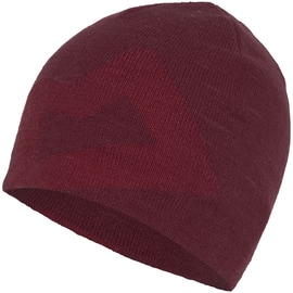 Mountain Equipment Branded Knitted Beanie Uni Rot