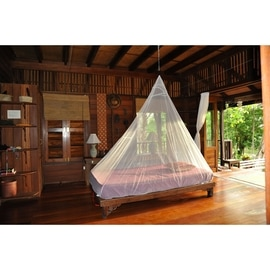 Cocoon Travel Net Single InsectShield Weiß