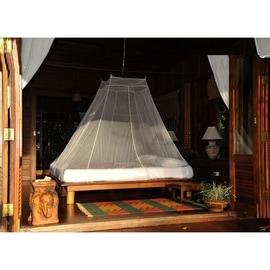 Cocoon Travel Net Double InsectShield Weiß