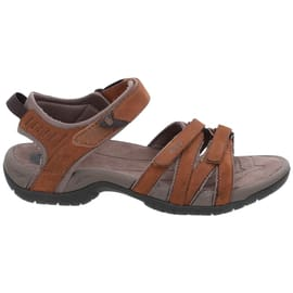 Teva Tirra Leather W's Hellbraun