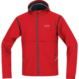 Gore Running Wear Essential AS Zip-Off Jacket Rot