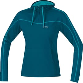 Gore Running Wear Essential Hoody Lady Shirt Petrol