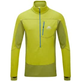 Mountain Equipment Eclipse Zip Tee Men Grün
