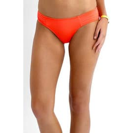 Seafolly Pleated Hipster Orange