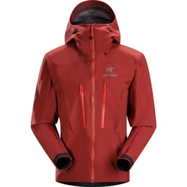 Arcteryx Alpha SV Jacket Men Dunkelrot