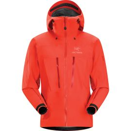 Arcteryx Alpha SV Jacket Men Rot