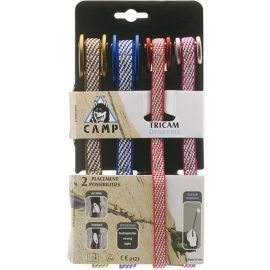 Camp Tricam Set Dyneema 0,5 - 2,0 Neutral