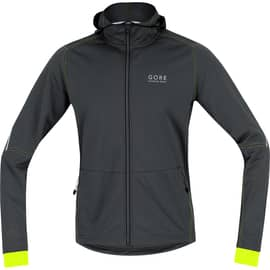 Gore Running Wear Essential SO Hoody Gelb