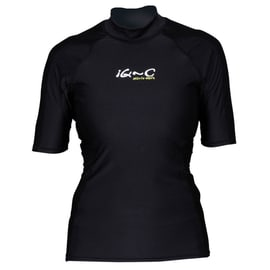 iQ Company UV 300 Shirt Slim Fit w Schwarz