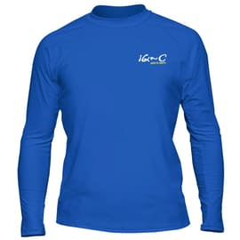 iQ Company UV 300 Shirt Loose Fit LS Dunkelblau