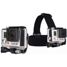 GoPro Head Strap + Quick Clip Neutral
