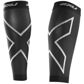 2XU Compression Calf Sleeves Schwarz