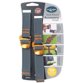 Sea to Summit Tie Down Accessory Strap 20mm with Hook 1.0m Gelb