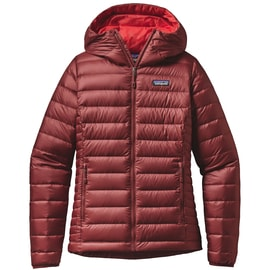 Patagonia W´s Down Sweater Hoody Rot