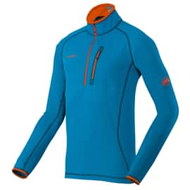 Mammut Eiswand Zip Pull Light Men Blau