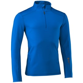 Mountain Force Grid Shirt Blau