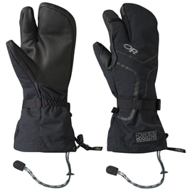 Outdoor Research Highcamp 3-Finger Ventia PRL Gloves Uni Schwarz