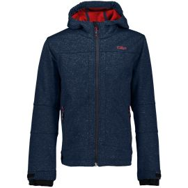 CMP BOY SOFTSHELL JACKET FIX HOOD Dunkelblau