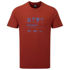 Mountain Equipment Attribute Tee Men Dunkelrot