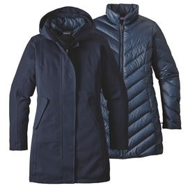 Patagonia W´S Tres 3 in 1 Parka Dunkelblau