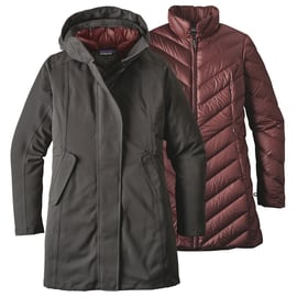 Patagonia W´S Tres 3 in 1 Parka Anthrazit