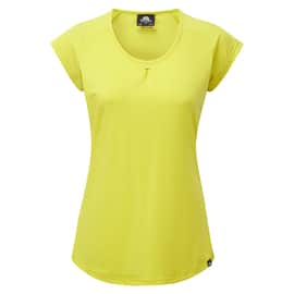 Mountain Equipment Women´s Equinox Tee Gelb