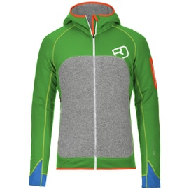 Ortovox Fleece Plus Hoody Men Grün