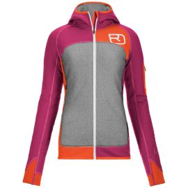 Ortovox Fleece Plus Hoody Women Beere