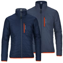 Ortovox Piz Boval SW Light Jacket Men Dunkelblau