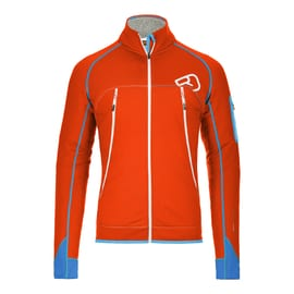 Ortovox Fleece Plus Jacket Men Orange