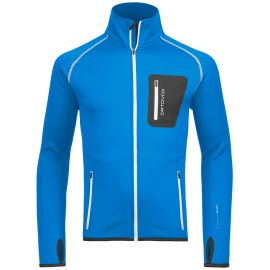 Ortovox Merino Fleece Jacket Men Blau