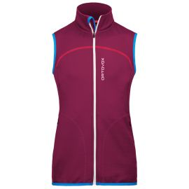 Ortovox Merino Fleece Vest Women Beere