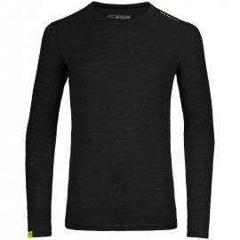 Ortovox Merino Ultra 105 Long Sleeve Men Schwarz