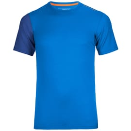 Ortovox 185 Rock 'n' Wool Short Sleeve Men Blau
