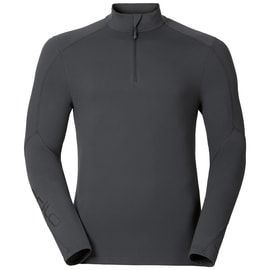 Odlo SILLIAN Stand-up collar l/s 1/2 zip Anthrazit