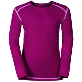 Odlo X-WARM Shirt l/s crew neck Kids Pink