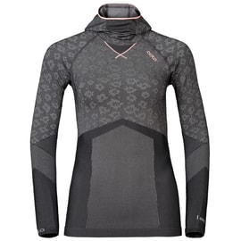 Odlo Blackcomb EVOLUTION WARM Shirt l/s with Facemask W Anthrazit