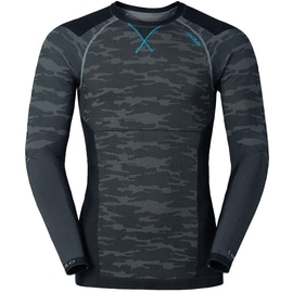 Odlo Blackcomb EVOLUTION WARM Shirt l/s crew neck M Anthrazit