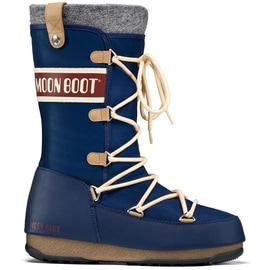 Moon Boot Moon Boot WE Monaco Felt Dunkelblau