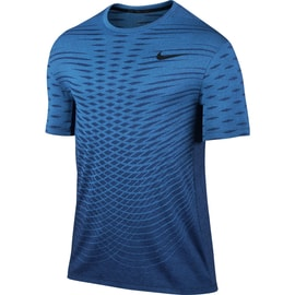Nike Ultimate Dry Top SS Blau
