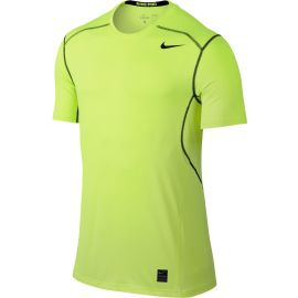 Nike Hypercool Fitted SS Top Lime