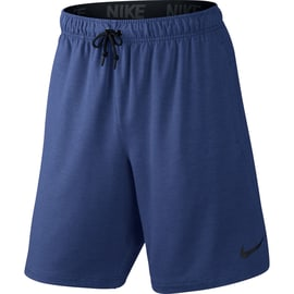 Nike DF Training Fleece 8 Short Dunkelblau