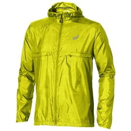 Asics fuzeX Packable Jacket Lime