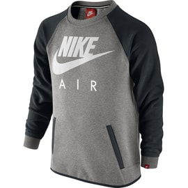 Nike YA FT HBR CREW-AIR YTH Grau