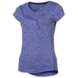 Puma Heather Cat Tee Kornblau