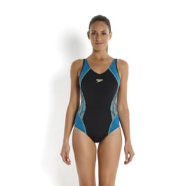 Speedo Speedo Fit Splice Muscleback Petrol