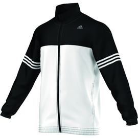 adidas Clima Base Track Top Knitted Weiß