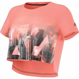 adidas Top Photo Tee Orange