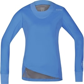 Gore Running Wear Sunlight Lady WS SO Shirt Long Hellblau