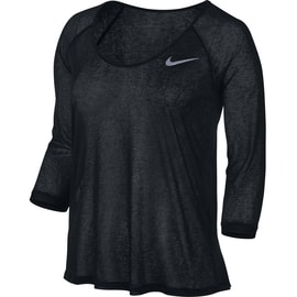 Nike DF Cool Breeze 3/4 Sleeve Schwarz